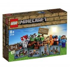 Lego 21116 Minecraft : La boîte de construction