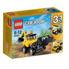 Lego 31041 Creator : Les véhicules de chantier