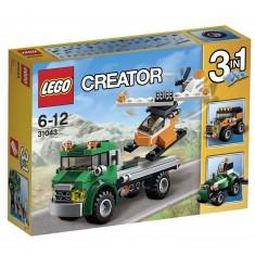 Lego 31043 Creator : Le transport de l'hélicoptère