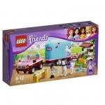 Lego 3186 Friends : La remorque à chevaux d'Emma