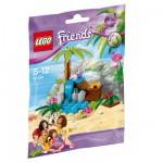 Lego 41041 Friends : La tortue et son île paradisiaque