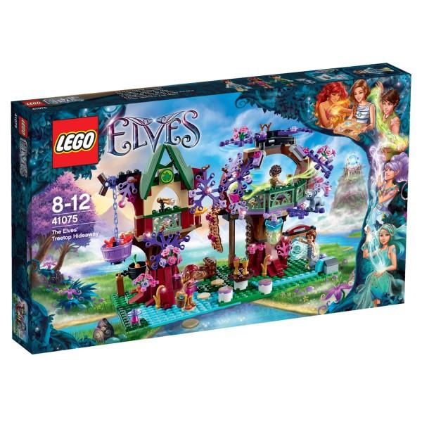 Lego 41075 Elves : La cachette secrète des Elfes - Lego-41075