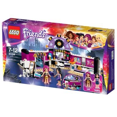 Lego 41104 friends la loge de la chanteuse jeux et jouets lego avenue des jeux - Jeux lego friends gratuit ...