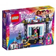 Lego 41117 Friends : Le plateau TV Pop Star