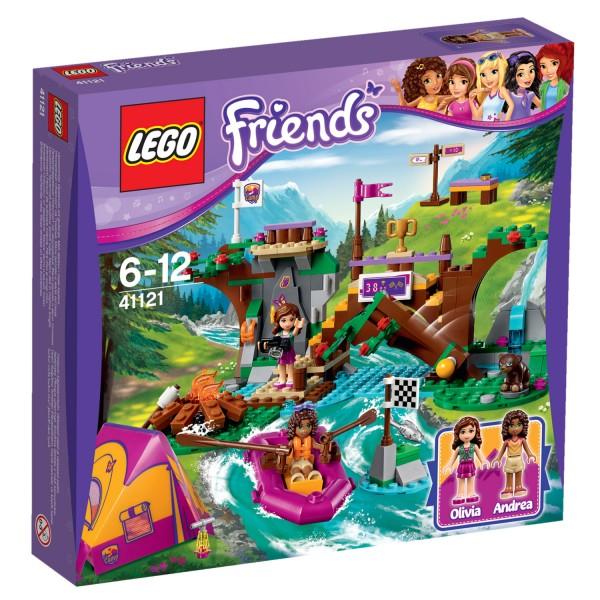 Lego 41121 Friends : Rafting à la base d'aventure - Lego-41121