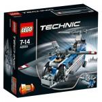 Lego 42020 Technic : L'hélicoptère bi-rotors