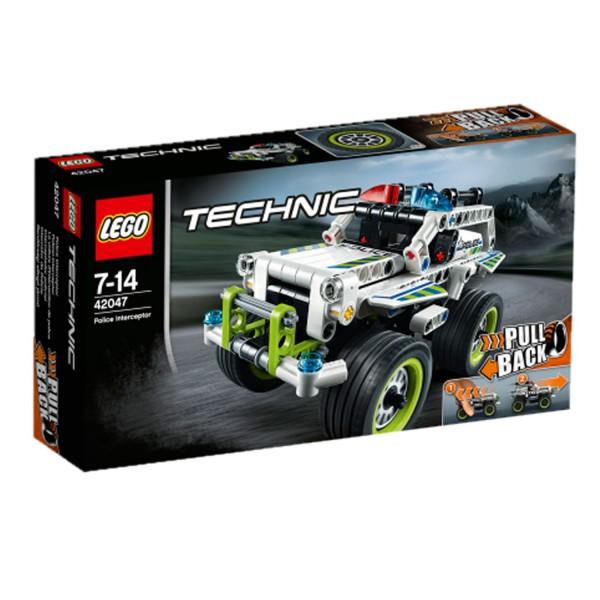 Lego 42047 Technic : La voiture d'intervention de police - Lego-42047