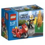 Lego 60000 City : La moto des pompiers