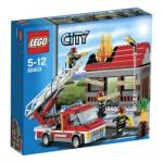 Lego 60003 City : L'intervention du camion de pompier