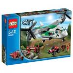 Lego 60021 City : L'avion cargo
