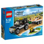 Lego 60058 City : Le 4x4 de transport de scooters des mers