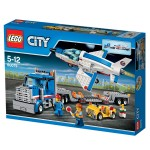 Lego 60079 City : Le transporteur d'avion