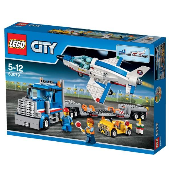 Lego 60079 City : Le transporteur d'avion - Lego-60079