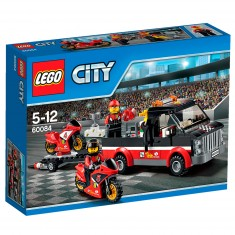 Lego 60084 City : Le transporteur de motos de course