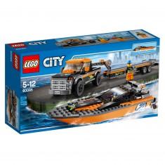 Lego 60085 City : Le 4x4 avec hors-bord