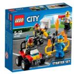 Lego 60088 City : Ensemble de démarrage pompiers