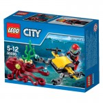 Lego 60090 City : L'explorateur sous-marin