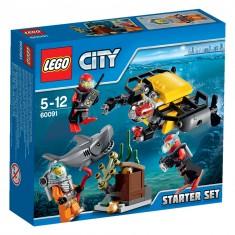 Lego 60091 City : Ensemble de démarrage sous-marin