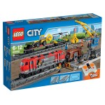 Lego 60098 City : Le train de marchandises rouge