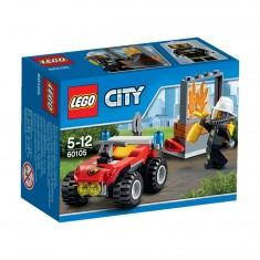 Lego 60105 City : Le 4x4 des pompiers