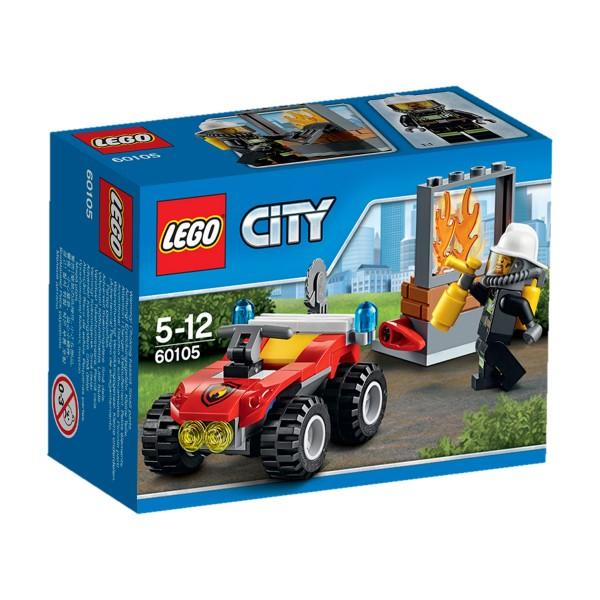 Lego 60105 City : Le 4x4 des pompiers - Lego-60105