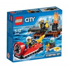 Lego 60106 City : Ensemble de démarrage pompiers