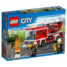 Lego 60107 City : Le camion de pompiers avec échelle