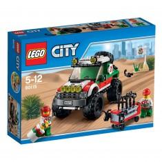 Lego 60115 City : Le 4x4 tout-terrain