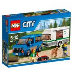 Lego 60117 City : La camionnette et sa caravane