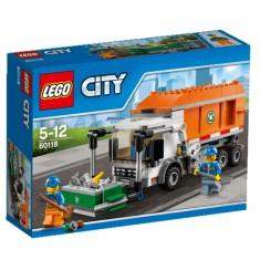 Lego 60118 City : Le camion poubelle