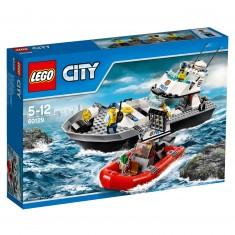 Lego 60129 City : Le bateau de patrouille de la police
