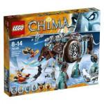Lego 70145 Chima : Le mammouth des glaces