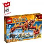 Lego 70146 Chima : Le temple du Phoenix de Feu