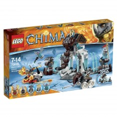 Lego 70226 Chima : La forteresse glacée du Mammouth