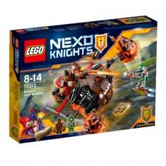Lego 70313 Nexo Knights : L'écrase-lave de Moltor