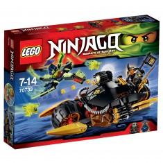 Lego 70733 Ninjago : La Moto multi-missiles