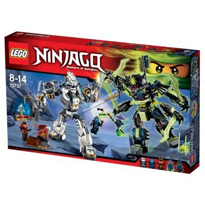 Lego 70737 ninjago le combat des titans jeux et jouets - Jeux de ninjago gratuit lego ...