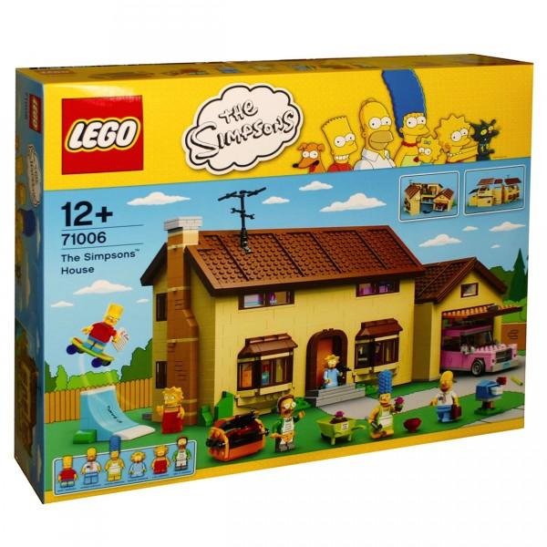lego 71006 expert la maison des simpson jeux et jouets lego avenue des jeux. Black Bedroom Furniture Sets. Home Design Ideas