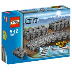 Lego 7499 City : Rails flexibles