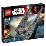 Lego 75104 Star Wars : Navette de commandement de Kylo Ren