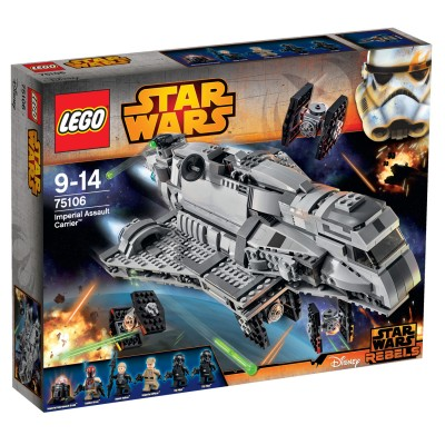 Lego 75106 Star Wars : Imperial Assault Carrier - Lego-75106