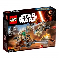 Lego 75133 Star Wars : Pack de combat de l'Alliance Rebelle
