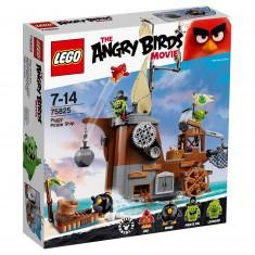 Lego 75825 Angry Birds : Le bateau pirate du cochon