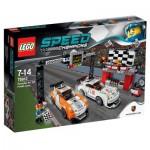 Lego 75912 Speed Champions : La ligne d'arrivée de la Porsche 911 GT