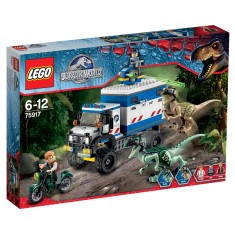 Lego 75917 Jurassic World : La destruction du Vélociraptor