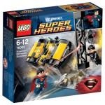 Lego 76002 Super Heroes : Superman : Le combat à Metropolis