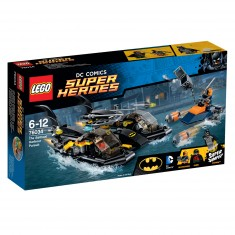 Lego 76034 Super Heroes : Batman : La poursuite en Batboat dans le port