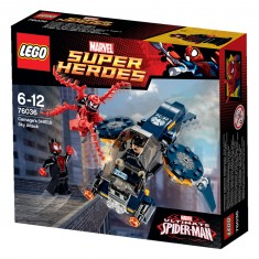 Lego 76036 Super Heroes : Spiderman : L'attaque aérienne de Carnage