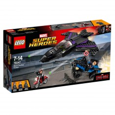 Lego 76047 Super Heroes : Captain America Civil War : La poursuite de Black Panther