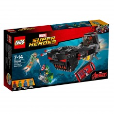Lego 76048 Super Heroes : Captain America Civil War : L'attaque en sous-marin d'Iron Skull